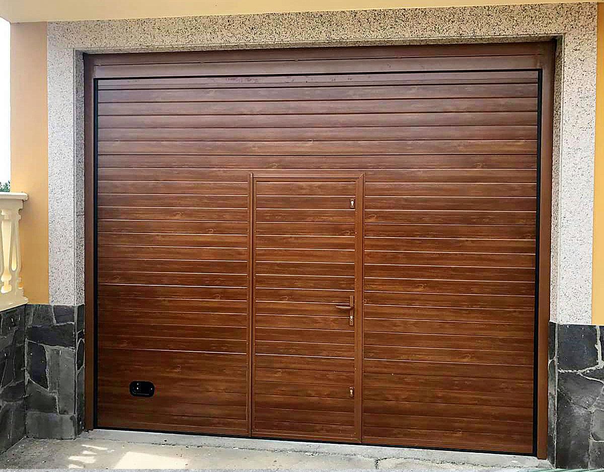 Portón garajes automático