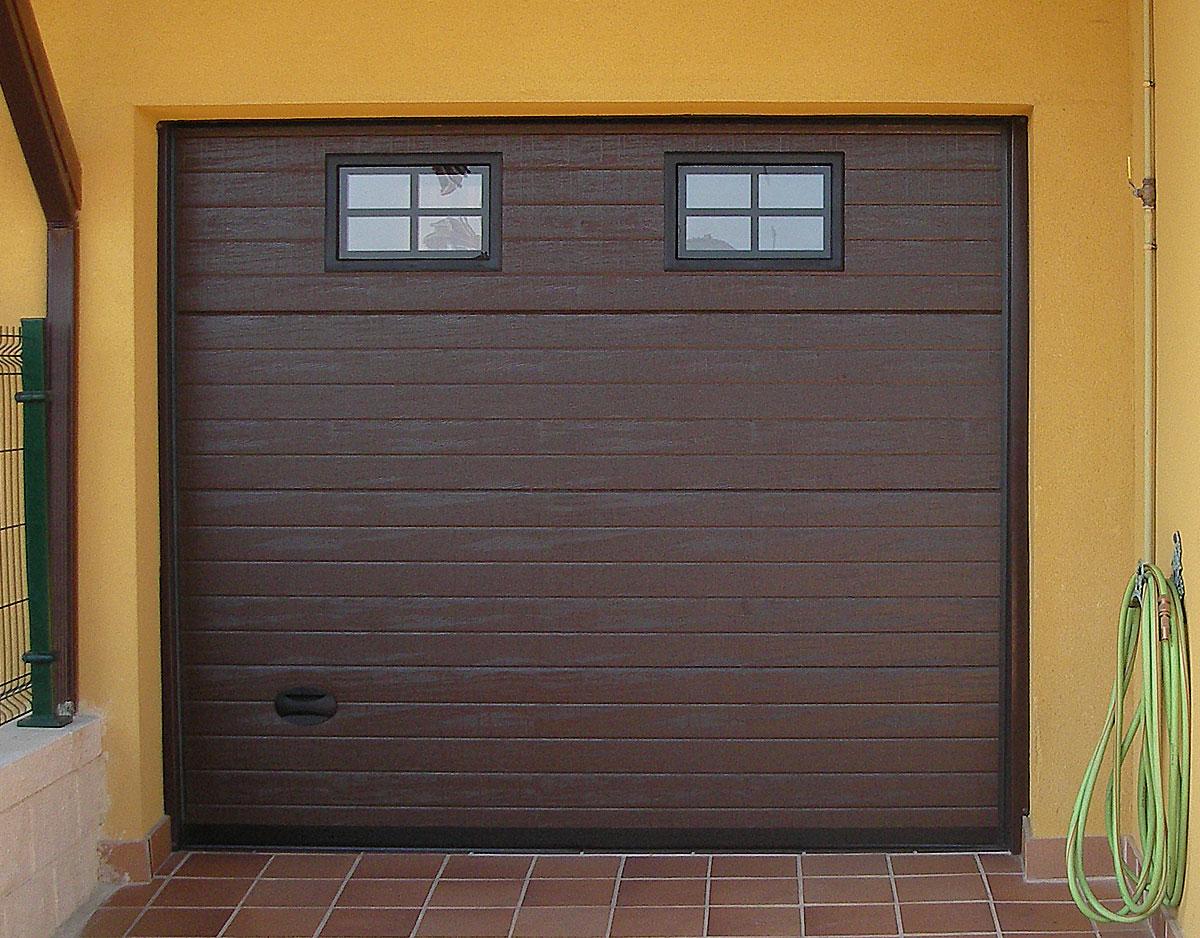 Portón garaje automático