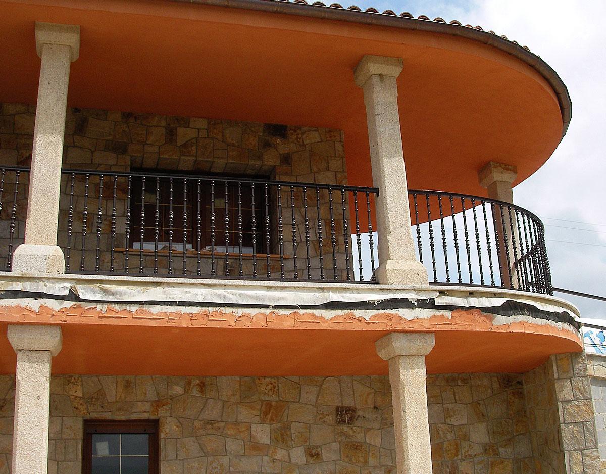 Balconera redondo