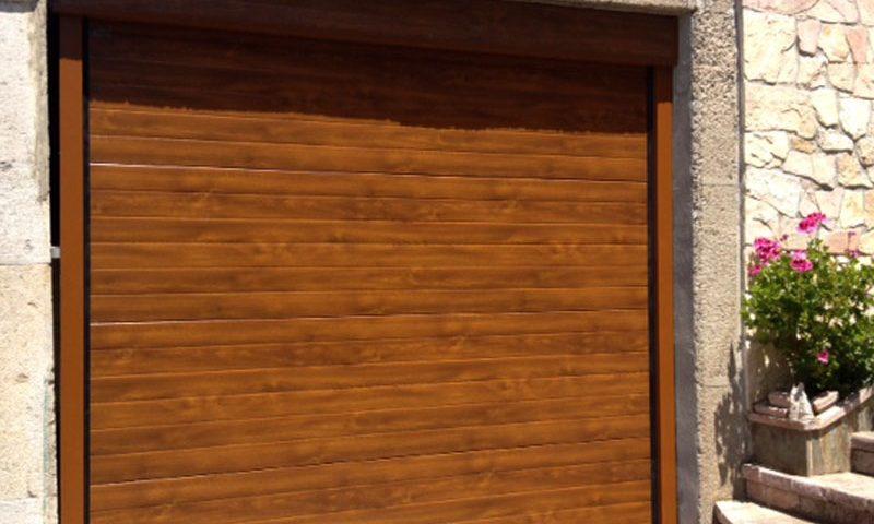 Portón de garaje